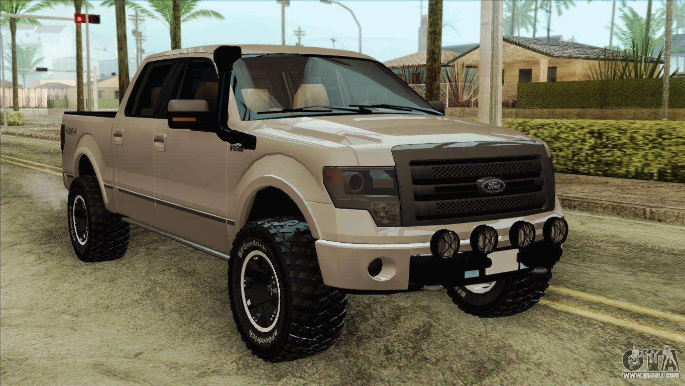 Ford F 150 Platinum 2013 4x4 Offroad For Gta San Andreas