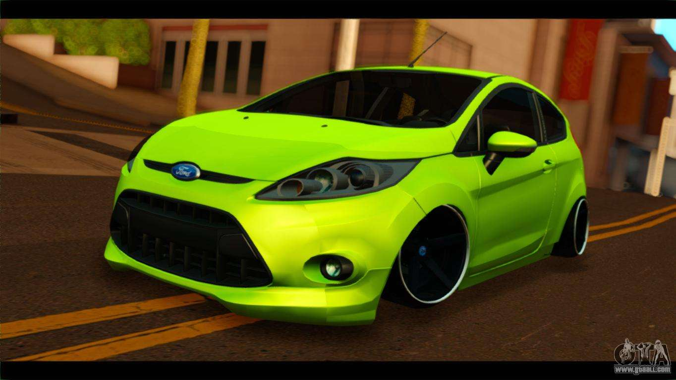 Ford Fiesta Hatchback >> Ford Fiesta for GTA San Andreas