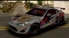 Toyota GT86 Itasha for GTA San Andreas