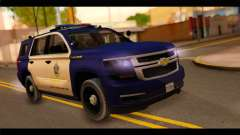 Chevrolet Suburban 2015 BCSD Sheriff for GTA San Andreas