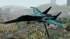 SU-27 Flanker A Warwolf Squadron for GTA San Andreas