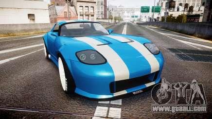 Bravado Banshee Double Stripe for GTA 4