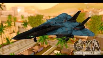 Grumman F-14D SuperTomcat Metal Gear Ray for GTA San Andreas