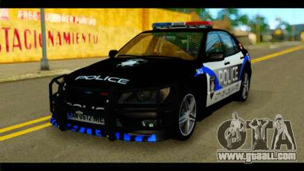 Toyota Altezza Police for GTA San Andreas