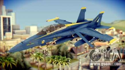 FA-18D Hornet NASA for GTA San Andreas