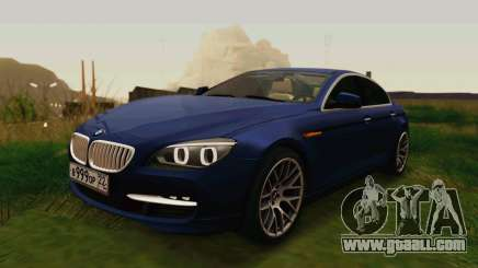 BMW 6 Series Gran Coupe 2014 for GTA San Andreas