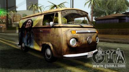 Volkswagen T2 Bob Marley for GTA San Andreas