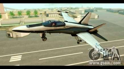 McDonnell Douglas FA-18 HARV v2 for GTA San Andreas