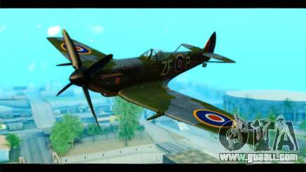 Supermarine Spitfire F MK XVI 318 SQ for GTA San Andreas