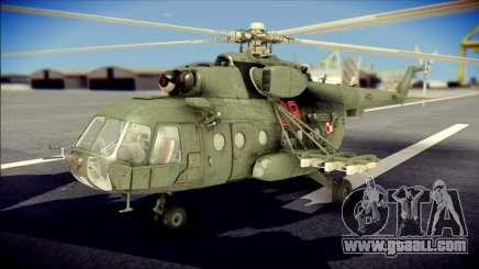 Mil Mi-8 Polish Air Force Afganistan for GTA San Andreas
