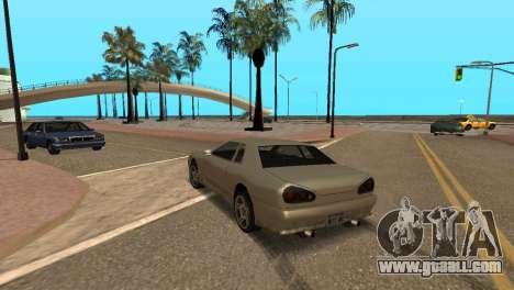Improved physics of driving for GTA San Andreas third screenshot
