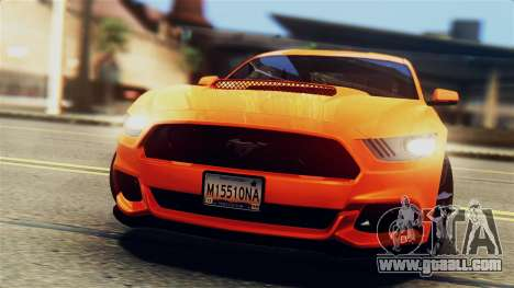 Ford Mustang GT 2015 Stock Tunable v1.0 for GTA San Andreas bottom view