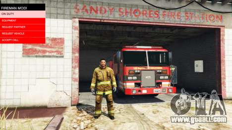 GTA 5 The mission of the fire v2.0