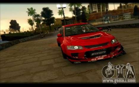 Mitsubishi Lancer Evolution IX Street Edition for GTA San Andreas