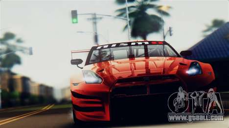 Nissan GT-R (R35) GT3 2012 PJ5 for GTA San Andreas right view