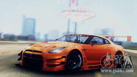 Nissan GT-R (R35) GT3 2012 PJ5 for GTA San Andreas