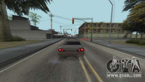 Improved physics of driving for GTA San Andreas seventh screenshot