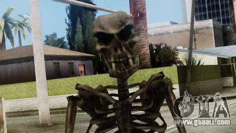 Skeleton Skin v2 for GTA San Andreas