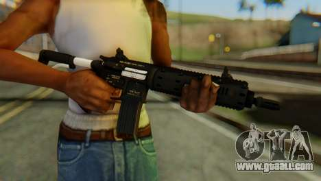 Carbine Rifle from GTA 5 v1 for GTA San Andreas third screenshot