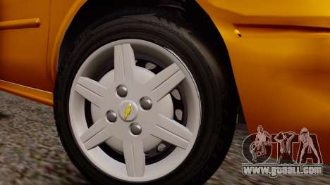 Chevrolet Corsa Classic 2009 v2 for GTA San Andreas right view