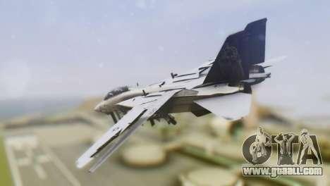 Grumman F-14A Tomcat for GTA San Andreas left view