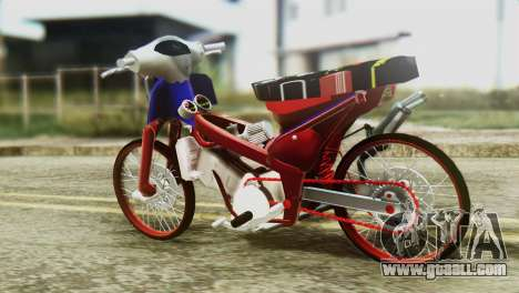 Dream 110 cc of Thailand for GTA San Andreas left view