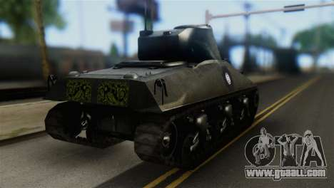 M4 Sherman Gawai Special 2 for GTA San Andreas left view