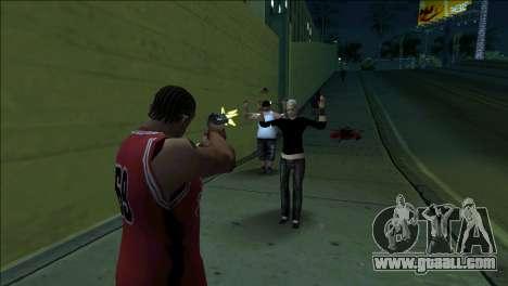 GTA 5 Kill Flash Effect for GTA San Andreas second screenshot