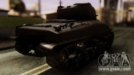 M4 Sherman v1.1 for GTA San Andreas left view