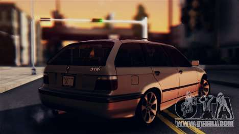 BMW 316i Touring for GTA San Andreas left view