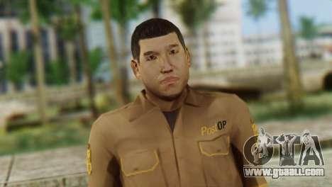 Post OP Skin from GTA 5 for GTA San Andreas third screenshot