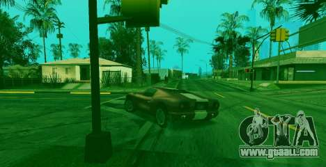 Special ability of Franklin indicator for GTA San Andreas third screenshot