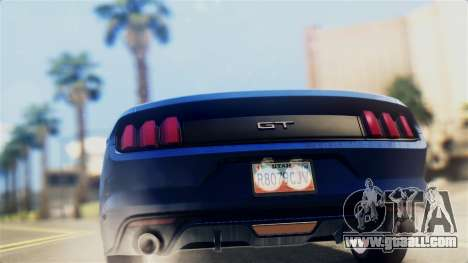 Ford Mustang GT 2015 Stock Tunable v1.0 for GTA San Andreas right view