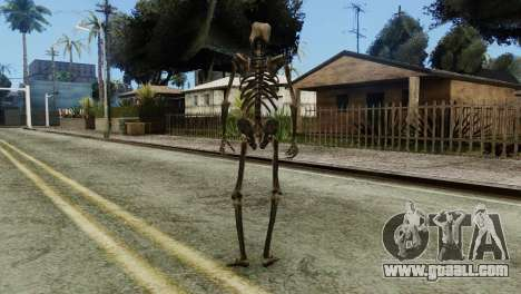 Skeleton Skin v2 for GTA San Andreas third screenshot