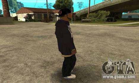 Groove Skin for GTA San Andreas forth screenshot