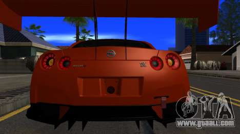 Nissan GT-R (R35) GT3 2012 PJ5 for GTA San Andreas side view
