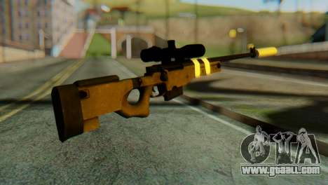 L96 Bandage Silencer for GTA San Andreas second screenshot