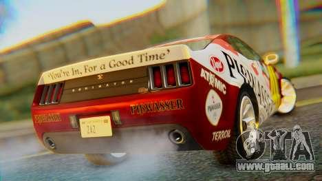 GTA 5 Vapid Dominator Pisswasser SA Lights for GTA San Andreas left view