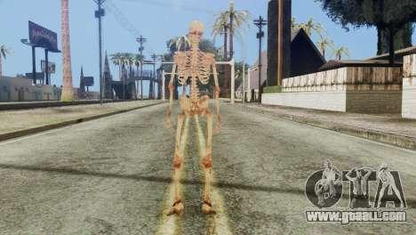 Skeleton Skin v1 for GTA San Andreas third screenshot
