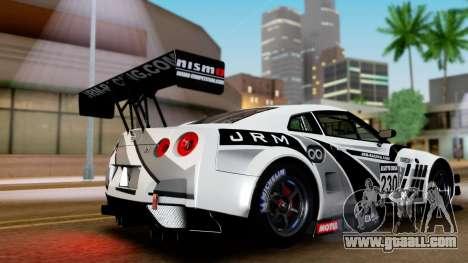 Nissan GT-R (R35) GT3 2012 PJ4 for GTA San Andreas