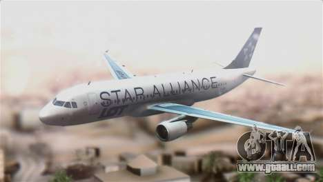 LOT Polish Airlines Airbus A320-200 for GTA San Andreas