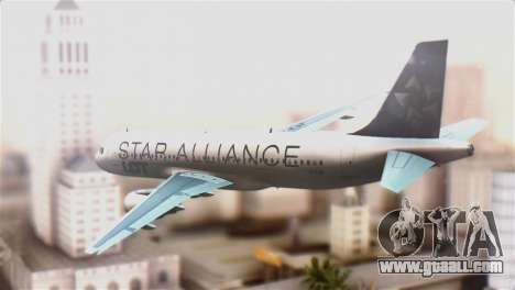LOT Polish Airlines Airbus A320-200 for GTA San Andreas left view