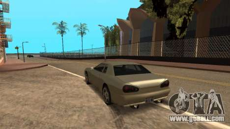 Improved physics of driving for GTA San Andreas second screenshot