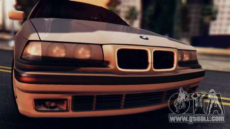 BMW 316i Touring for GTA San Andreas back left view