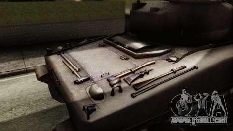 M4 Sherman v1.1 for GTA San Andreas right view