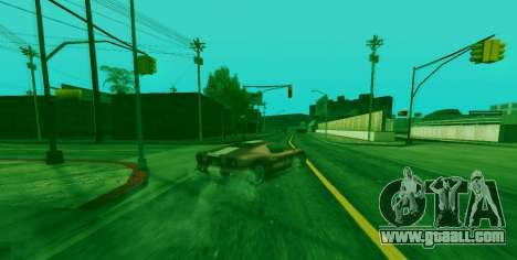 Special ability of Franklin indicator for GTA San Andreas second screenshot