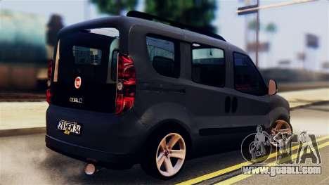 Fiat Doblo for GTA San Andreas left view