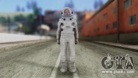 Astronaut Skin from GTA 5 for GTA San Andreas