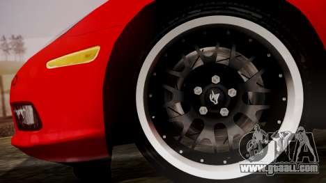 Chevrolet Corvette Z51 Another Itasha for GTA San Andreas back left view