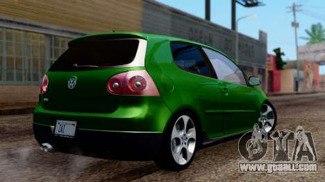 Volkswagen Golf Mk5 GTi Tunable PJ for GTA San Andreas left view